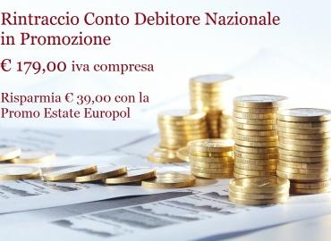 Promozioni Estive sulle indagini Recupero Crediti Rintraccio Conto Corrente